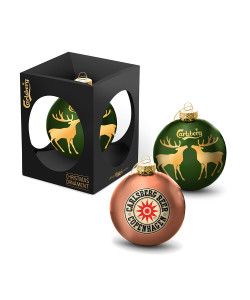 Exclusive Christmas Ornament With Star Logo