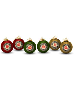 Christmas Ornaments Star Print