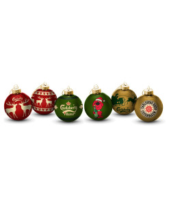 Christmas Ornaments Different Prints
